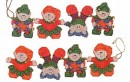 Elves in Action Ornaments