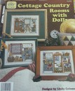 Cottage country rooms with dolls